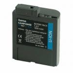 Hama Li-Ion Akku Batterie für Canon BP-412 BP-406 BP-407 BP-422 MV3 MV4 MVX10i