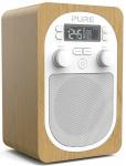 Pure Evoke H2 Digital-Radio DAB DAB+ FM UKW Küchen-Radio mit Display Wecker MP3