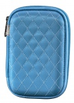 Hama Etui Tasche Schutz-Hülle blau für 8x Speicherkarten SDHC MMC CF Micro SD XD