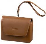 Hama Navi-Bag Tasche Hülle S2 für Navigon 7100 Garmin Nüvi 610T etc. Leder Braun