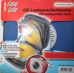 Hama CD Lautsprechertasche CD Box für 12 CDs Lautsprecher Tasche blau Wallet