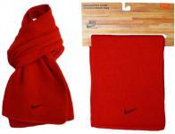 Nike Knit Scarf Strick Schal rot unisex 156cm Damen Herren Halsschal Winterschal