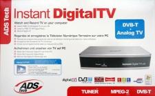 ADS USB Box Digital TV-Karte Receiver Dual DVB-T DVB-C Analog Kabel PC Notebook