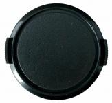 Objektivdeckel Snap 55mm Aufsteck-Fassung schwarz Deckel für Objektiv DSLR SLR