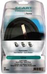 Hama Scart-Kabel 1, 5m Verbindungskabel für TV LCD DVD VCR Sat DVB-T Receiver ...