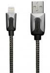 XtremeMac HQ Premium Lightning-Kabel Cable 1m Black für iPhone X 8 7 6 iPad Air
