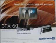 Beyerdynamic Bass Expression in-Ear 3, 5mm Klinke für Handy iPhone MP3 weiß
