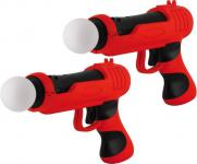 DOPPELPACK Bigben Gun Pistole für PS3 Move Controller Light-Gun Shoot-Gun PS 3