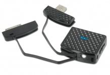 iGo Akku Power Bank USB Ladegerät Schlüssel-Anhänger für Apple iPhone 4S 4 3GS 3