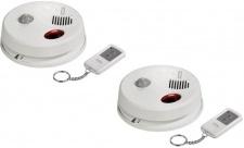 2x Pack Hama Decken-Alarm 360° Bewegungsmelder Sensor Einbruch-Schutz Haus-Alarm