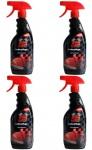 4x Pack Extreme Clean Leder-Pflege 500ml Spray Leder-Reiniger Reinigungs-Milch