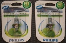 2x Philips H1 Eco Vision 12V Energy Saver Glüh-Birnen Glüh-Lampen KFZ Xenon-Gas