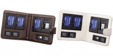 Hama 2x Speicherkarten-Tasche Etui Case für Sony Memory-Stick Pro Duo Micro M2