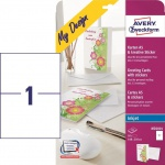 Avery 10x Gruß-Karten A5 Umschlag Geburtstagskarte Geschenk-Karte für A4 Drucker