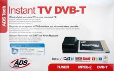 ADS Tech Instant TV-Karte Dual DVB-T Digital PCMCIA Cardbus Card Receiver Tuner