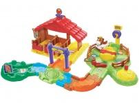 Vtech Tap Tap Baby Tiere Reiterhof mit Pferd Stall Boxen Wege Lern-Spielzeug