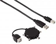 Hama Mini USB Adapter Daten-Kabel Anschluss-Kabel USB Typ Mini-B B4 B5 B6 B8 M4