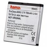Hama Li-Ion Akku Batterie für Nokia BL-6P 6500 classic Crystal Prism 7900 etc.