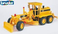Bruder Cat Motor Grader Planier-Fahrzeug Aufreißer Planierer Profi-Serie 02436