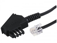 Hama 15m Telefon-Kabel TAE-Stecker TAE-F -> RJ11 Modular-Stecker 6P4C Western