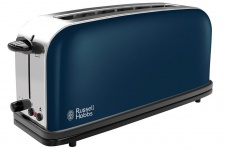 Russell Hobbs Long Slot Royal Blue Toaster 21394-56 1000W 2 Scheiben 6 Stufen