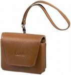 Hama Navi-Bag Hülle Tasche S1 für TomTom One V2/V3 Navigon 3100 etc. Leder Braun
