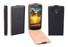 Patona Flip Case Tasche Hülle Cover Bag für Alcatel One-Touch Idol POP 2 OT-5042