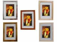 Hama Bilder-Rahmen Siegen Holz-Rahmen Foto Portrait Wand Poster Deko Glas