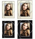 Hama Portraitrahmen 10x15cm 13x18cm Portrait Bilder-Rahmen Foto Bild Porträt