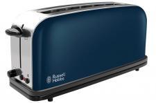 Russell Hobbs Long Slot Royal Blue Toaster 21394-56 1000W 2 Scheiben 6 Stufen