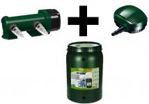 TetraPond Teich Set 10000 Bachlauf-Pumpe CFP-5500 UVC-Filter Durchlauf-Filter