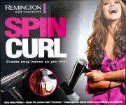 Remington Edition Spin-Curl Haartrockner + Aufsatz Fön Natur-Wellen Locken Föhn
