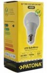 Patona LED Birne E27 9W / 70W Warm-Weiß 3000K LED-Lampe Glühbirne Leuchtmittel