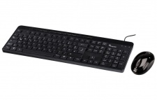 Hama Tastatur Maus Set INSTAP SE-2100 Keyboard Deutsch Wireless Funk-Maus Mouse