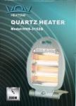 Quartz Heizgerät 800 Watt Heizstrahler Heizung Strahler Wärmestrahler Heizlüfter