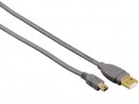 Hama 3m USB-Kabel Mini-B-Stecker Mini-USB für Navi MP3 PC HDD Handy Smartphone