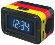 Bigben Radiowecker RR30 Deutschland Radio Wecker LCD Display FM Uhrenradio Uhr