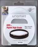 Unomat UV-Filter 58mm UV Filter Speerfilter DHG vergüted für DSLR Objektiv Foto