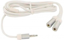 Thomson Y-Adapter Splitter 3, 5mm Klinke-Kabel 2x Kopfhörer an Handy MP3 Player