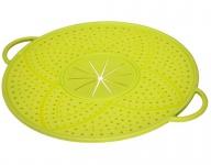 Xavax Überkochschutz Silikon Rund Überkoch-Deckel Überlaufschutz Spritz-Schutz