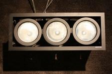 Antares Lampe Design by F. A. Porsche Shop-Beleuchtung 3 Silber Halogen 70 Watt
