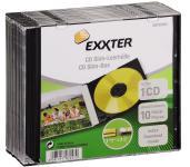 Hama 10x CD-Hülle CD-ROM BluRay Slimline Leerhülle DVD-Hüllen 10 Pack Jewel Case