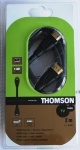 Thomson Premium HDMI-Kabel 2m 1.3c 3D 1080p Full HD TV für DVD Receiver PC LCD