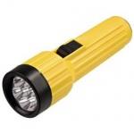 HAMA TASCHENLAMPE FL100B GELB 7-LEDs ENERGIESPAREND NEU