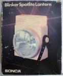 Sonca Taschenlampe Blinker Spotlite Lantern 4 Einstellarten Flashlight hell