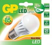 GP LED Birne E27 3, 5W / 25W Warmweiß 2900K LED-Lampe A50 Glühbirne Leuchtmittel
