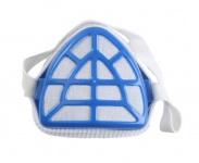 Beast 1x Atemschutzmaske Feinstaubmaske Schutz-Maske Gesichtsmaske Blau