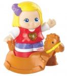 Vtech Kleine Entdeckerbande Figuren Lotta + Schaukel-Pferd Figur Lern-Spielzeug