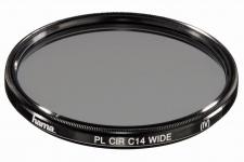 Hama Polarisations-Filter 52mm Pol-Filter C14 coated für DSLR DSLM Kamera Foto