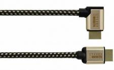 Hama High Speed HDMI Kabel Stecker Entrance Series 3D HDTV-tauglich 1, 5m Schwarz